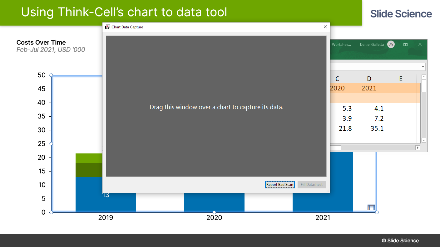 Think-Cell Chart to Data Tool Tutorial