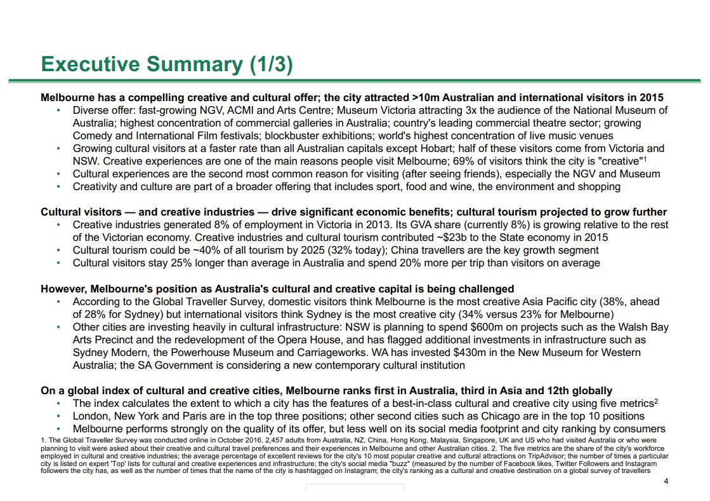 BCG Executive Summary Slide