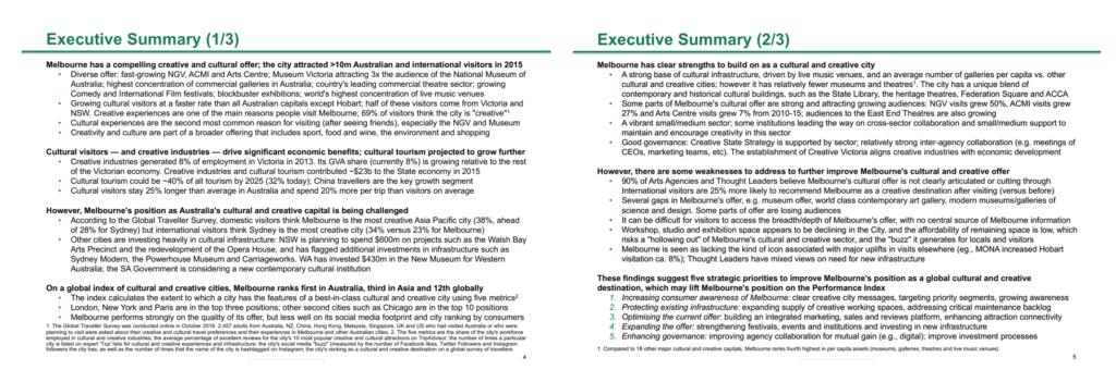 BCG Executive Summary Slides