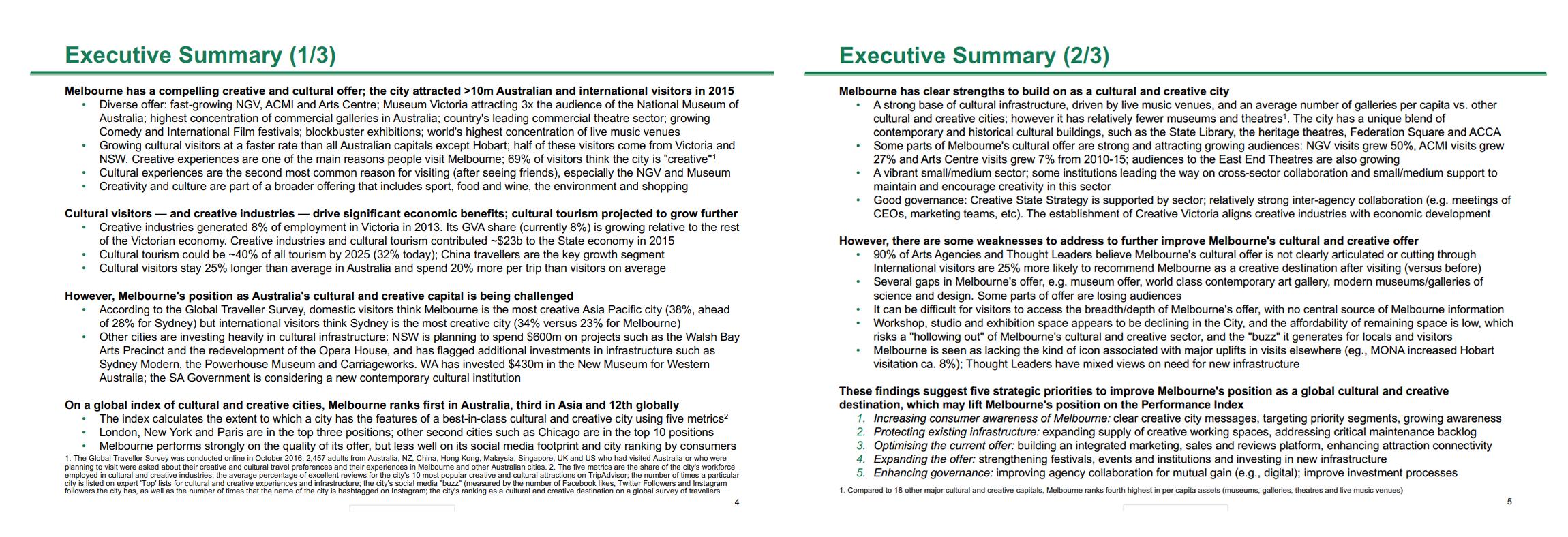 BCG Executive Summary